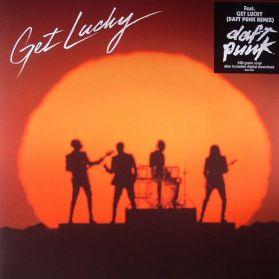 Daft Punk - Get Lucky - Daft Punk Remix - 2013 French Disco Electronic - Sealed  180 Grm 3 Trk 12 EP