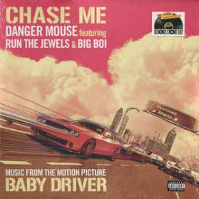 """Danger Mouse - Run The Jewels - Big Boi – Chase Me - Baby Driver (Soundtrack) - 2017 RSD Hip Hop - Sealed  4 Trk 12"""" EP"""