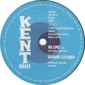 "Darrow Fletcher ‎– No Limit / What Good Am I Without You - 1967 Northern Soul / 80s Modern Soul Boogie  7"" 45 RPM"