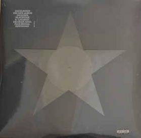 David Bowie - Blackstar - Jan 08 2016 Original 1st Press Jazz Rock - Black Vinyl  180 Grm LP +Booklet