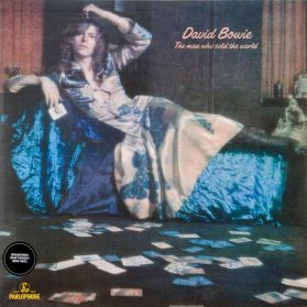 David Bowie - The Man Who Sold The World - 1970 Art Rock - Textured Cover - Sealed 180 Grm LP