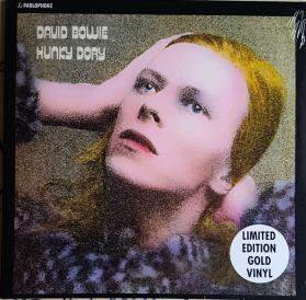 David Bowie - Hunky Dory - 1971 Glam Rock - Ltd Ed Gold Vinyl - Sealed 180 Grm  LP