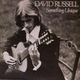 David Russell – Something Unique - 1979 Classical Guitar LP