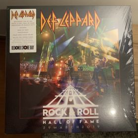 "Def Leppard –  Rock & Roll Hall Of Fame 29 March 2019 -  Glam Hard Rock - Sealed 5 Trk 12"" EP"