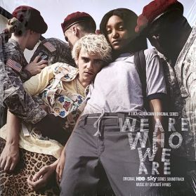 We Are Who We Are - Devonte Hynes  (Original Series Soundtrack) - 2020 HBO TV Soundtrack - Grey Black Blue Splatter Vinyl - 2LP