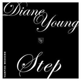 """Vampire Weekend - Diane Young / Step - Ltd to 2000 Copies - 2013 Indie Rock 7"""" 45"""