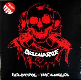 Discharge – Decontrol  The Singles - 2002  Hardcore Punk Ltd Ed Red Vinyl 2LP