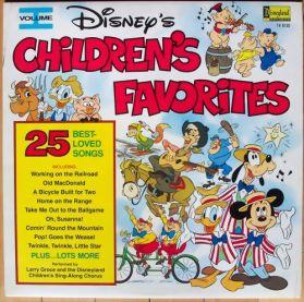Disney's Children's Favorites Volume I - Larry Groce - 1979 Disney Kids - Original Sealed LP