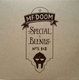 MF Doom - Special Blends Nos. 1 and 2 - 2004 Instrumental Hip Hop - Sealed 2LP