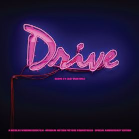 Drive (Original Motion Picture Soundtrack)  - 2011 Cliff Martinez - Synthwave  Ltd Pink Vinyl - Sealed  2LP