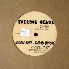"Talking Heads - I Zimbra - Jezebel Spirit - ENO - 80`s Afro Spoken Dance Disco  12"""