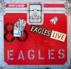 Eagles – Eagles Live - 1980 California Yacht Rock - Original Canada 2LP + Poster