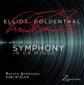 Elliot Goldenthal - Symphony In G# Minor - Pacific Symphony 2017 Classical - Ltd Ed 180 Grm LP