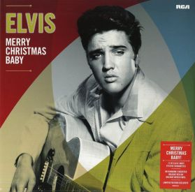 Elvis Presley – Merry Christmas Baby - 1971 Xmas Rock - Green Vinyl  - Sealed LP