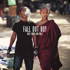"""Fall Out Boy - Save Rock And Roll - 2013 Pop Punk Alt Rock - Red Vinyl -  2 x 10"""""""