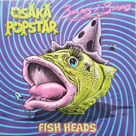 Osaka Popstar X Barnes & Barnes – Fish Heads - 2019 RSD Emo Pop Punk - Neon Pink Vinyl - 4 Trk 12 EP