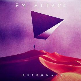 FM Attack – Astrowave - 2018 Vancouver EDM Synthwave Electronic - Purple Vinyl LP