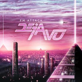 FM Attack – Deja Vu - 2013 Canada  Synthwave  Synthpop - Orchid Pink - Sealed 180 Grm LP  200 Copies