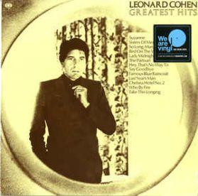 Leonard Cohen – Greatest Hits - 1975 Folk Poetry Rock - Sealed 180 Grm LP
