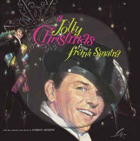 Frank Sinatra - A Jolly Christmas - 1957 Xmas Jazz Pop Vocal - Pic Disc 180 Grm LP