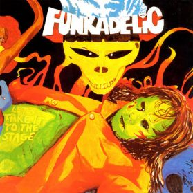 Funkadelic - Let's Take It To The Stage -  Psych Funk - Gold Vinyl - Sealed 180 Grm - LP