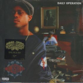 Gang Starr - Daily Operation - 3D Cover - 1992 Underground Hip Hop - Sealed 180 Grm LP