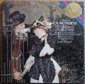 Giacomo Puccini - La Rondine -  Placido Domingo - Kiri Te Kanawa - London Symphony Orchestra  - 1983 Classical Opera - Sealed  2LP Box Set + Booklet