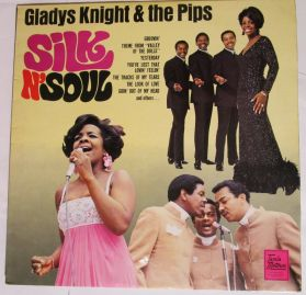 Gladys Knight & The Pips  ‎– Silk N' Soul - 1968 Soul - UK Original Laminated  Mono Issue LP