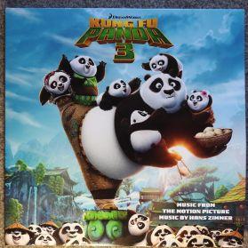 Hans Zimmer –  Kung Fu Panda 3  ( Soundtrack ) 2016 Black and White Vinyl 2LP - 750 copies