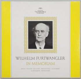 Bach, Haydn, Mozart, Beethoven, Schubert, Schumann, Bruckner – In Memoriam - Wilhelm Furtwängler - 1963 Classical - Original Sealed 5LP Boxset + Booklet