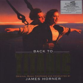 Back To Titanic (Music From The Motion Picture) - James Horner – 1998 Soundtrack - Gold Vinyl 180 Grm 2LP + Booklet + 2 Inserts