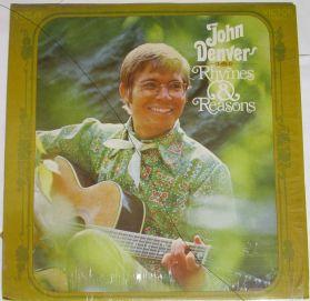 John Denver – Rhymes & Reasons - 1969 Original Folk Rock LP in Original Shrink