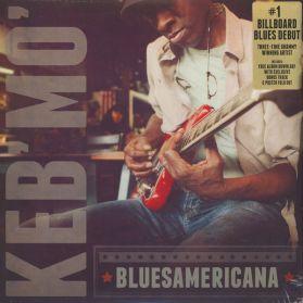 Keb  Mo - Bluesamericana - 2014 Blues - Sealed  LP + Poster