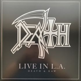 Death ‎– Live In L.A. (Death & Raw) - 2001 Death Metal - Black Vinyl 180 Grm 2LP