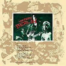 Lou Reed – Berlin - 1973 Dark Rock LP