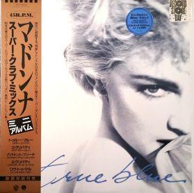 Madonna – True Blue (Super Club Mix) - 1986 RSD Dance Pop - Blue Vinyl 5 Trk 12 EP