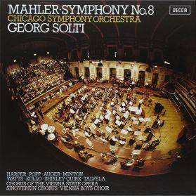 Mahler - Chicago Symphony Orchestra - Georg Solti – Symphony No. 8 - 1972 Classical - Analogue Audiophile  - Sealed 180 Grm 2LP Box Set