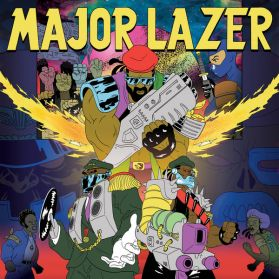 Major Lazer - Free The Universe - Diplo - 2013 Dancehall Electro - Sealed 2LP +  Pic Insert