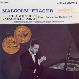 Malcolm Frager - Prokofieff  ‎– Concerto No. 2 - Haydn - 1960 Grammy Winner Classical - Canada Issue - Living Stereo LP