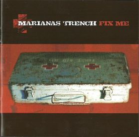 Marianas Trench - Fix Me - 2006 Alt Emo Pop Punk Pic Disc - Sealed 180 Grm LP