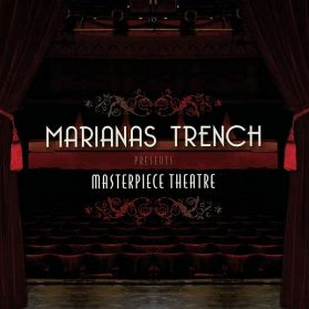 Marianas Trench - Masterpiece - 2009 Pop Punk Purple Marble - Sealed 180 Grm LP + 3D Glasses
