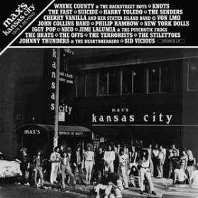 Max's Kansas City 1976 & Beyond - Punk Art Rock Red Vinyl 2LP