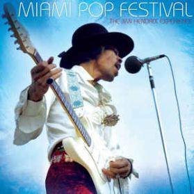 Jimi Hendrix - Miami Pop Festival - Live - 1968 Blues Psych Rock - Analog Audiophile - Sealed  200 Grm  2LP + Book