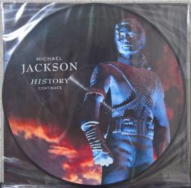 Michael Jackson – History Continues - 1995 Pop R+B PIC DISC 2LP