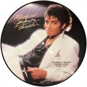 Michael Jackson - Thriller -  1982 Funk Synth Pop  - Picture Disc LP