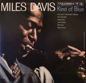 Miles Davis - Kind of Blue -  1958 Modal Jazz - Stereo - Clear Vinyl - Sealed LP