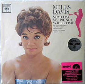 Miles Davis Sextet - Someday My Prince Will Come - 1961 Jazz - Audiophile HQ Mono - Sealed 180 Grm LP