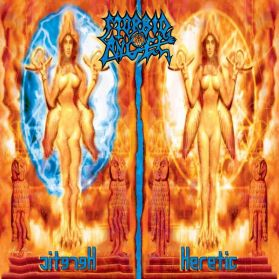 Morbid Angel ‎– Heretic - 2003 Death Metal LP in Shrink + Lyric Insert