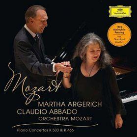 Mozart - Piano Concertos No. 25 & 20  -  Martha Argerich - Claudio Abbado - 2014 Classical -  Sealed 180 Grm  LP