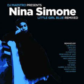Nina Simone - Little Girl Blue Remixed - DJ Maestro 2015  Electronic Downtempo Jazz - Blue Vinyl  180 grm 2LP
